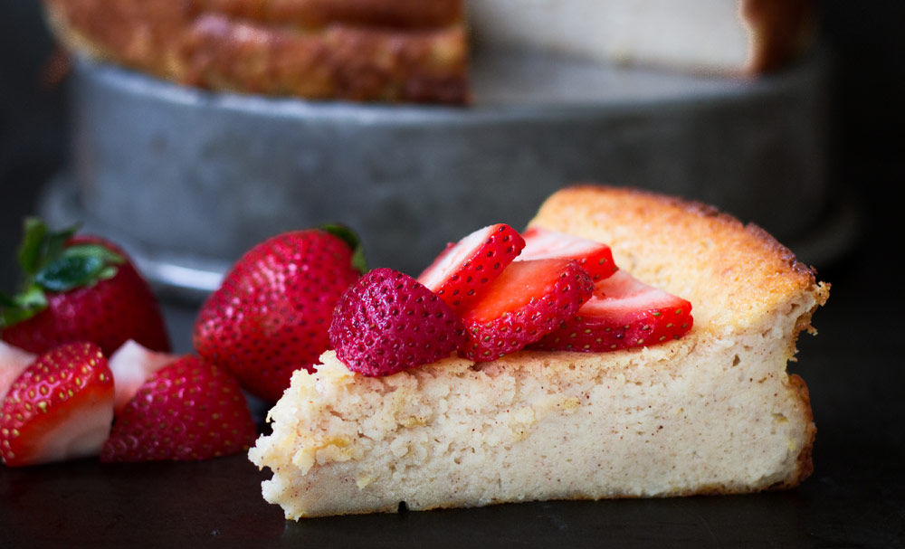 Quesada Pasiega (Spanish Catabrian Cheesecake)