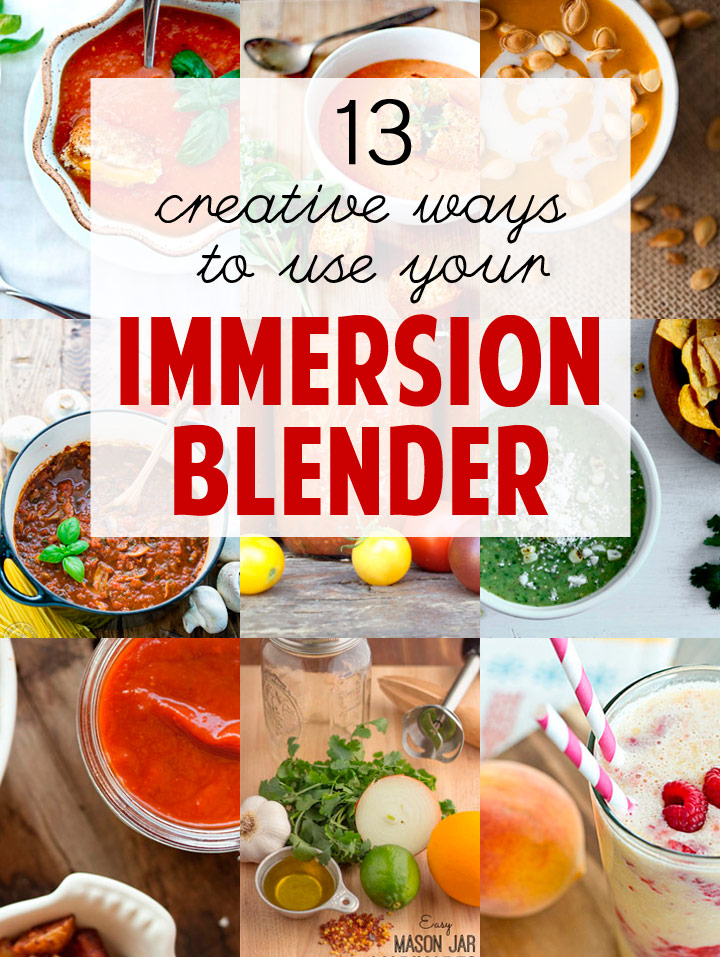 13 immersion blender recipes that will make your week 13 creative recipes using your immersion or stick blender forumfinder Gallery