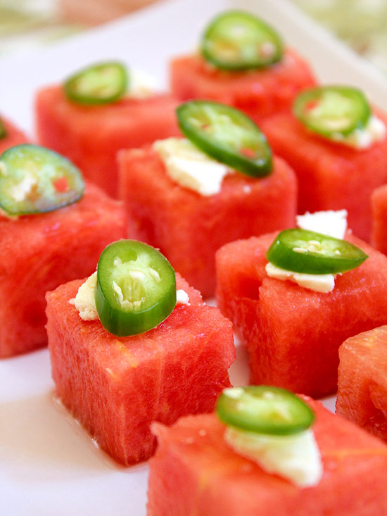 Watermelon Salad Bites