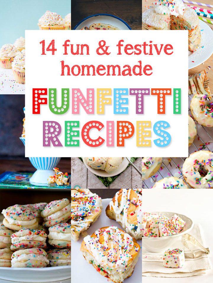 14 fun and festive funfetti recipes blog noshon 14 fun and festive homemade funfetti recipes without boxed mix forumfinder Images