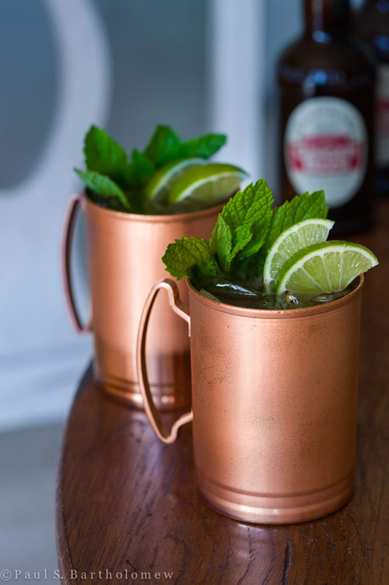 Ginger beer + Vodka + Lime = Moscow Mule
