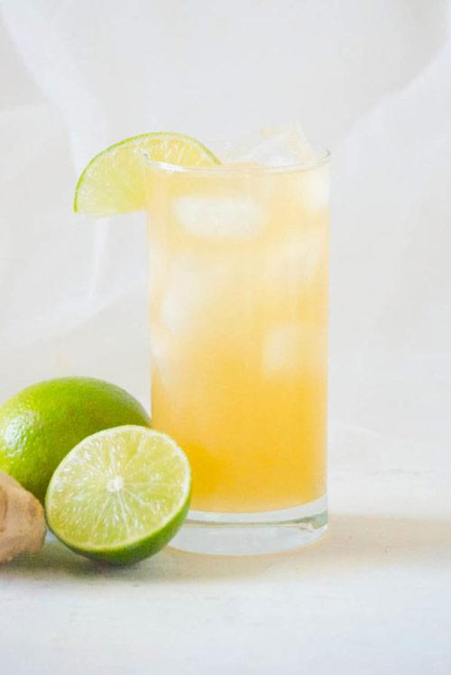 Ginger beer + Rye + Lime = Rye Mule
