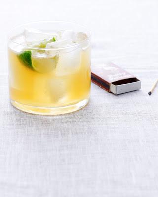 Ginger beer + Bourbon + Lime + Maple = Nor'Easter