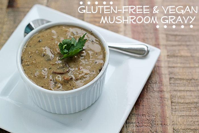 Mushroom Gravy (v)