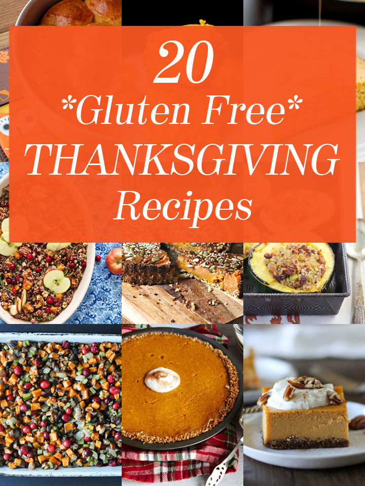 20 Gluten Free Thanksgiving Recipes including biscuits, rolls, gravy ...