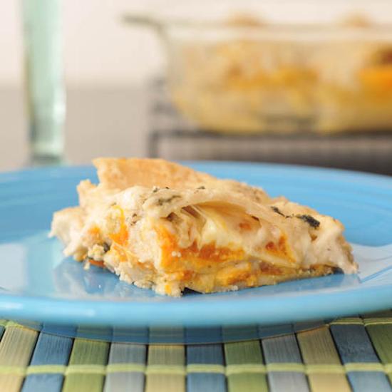 Butternut Squash Lasagna with Crispy Sage