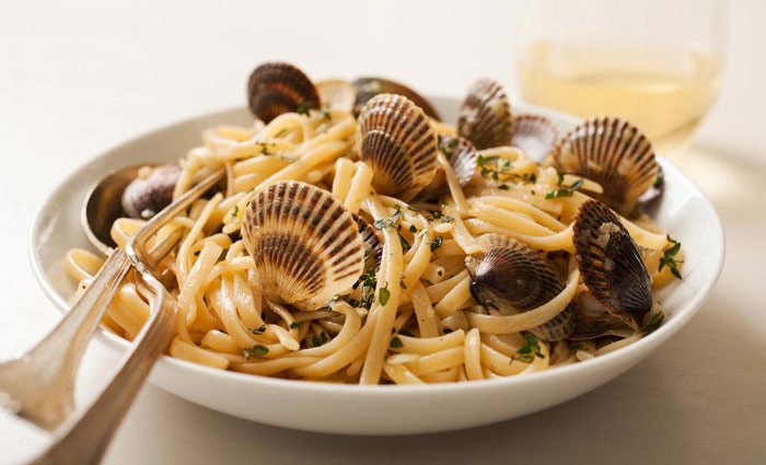 Linguine Vongole with Clams
