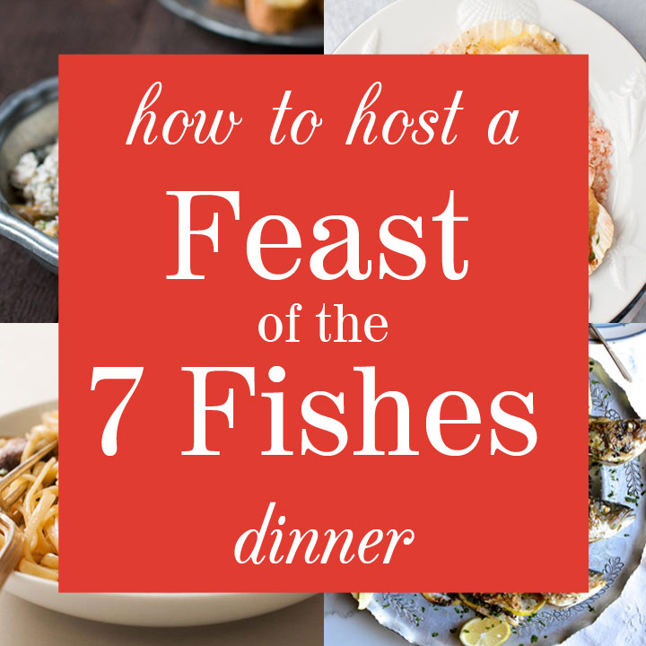 How to host a feast of the fishes dinner a complete menu for Feast of the fishes