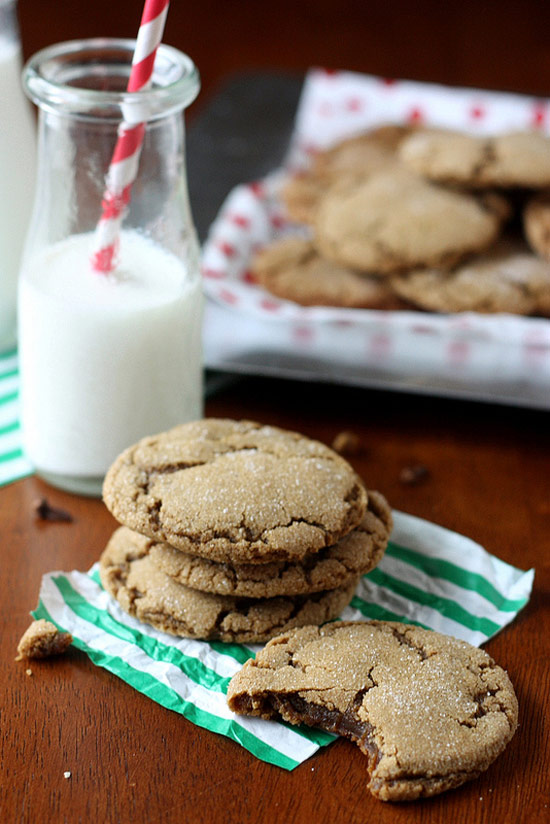 24. Smoky Cardamom Ginger-Molasses Cookies from Reclaiming Provincial