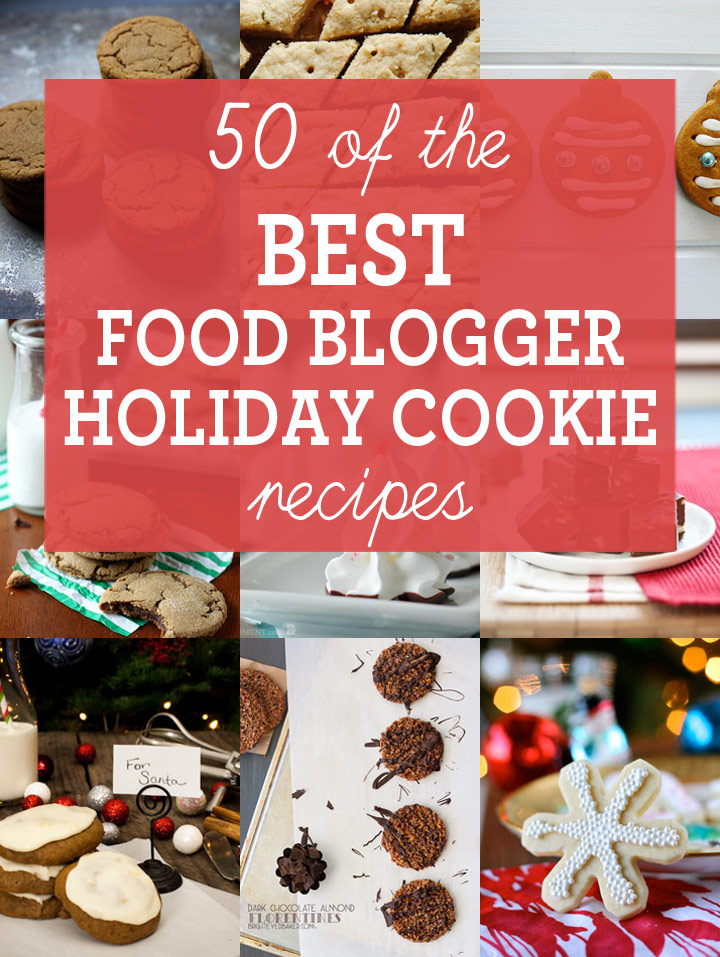 50 best blogger christmas cookie recipes blog noshon 50 of the best food blogger holiday cookie recipes every type of holiday cookie you forumfinder