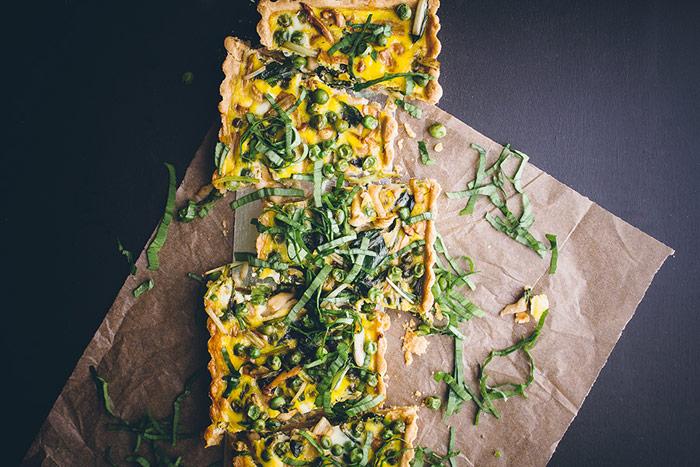 Loaded Vegetable Tart