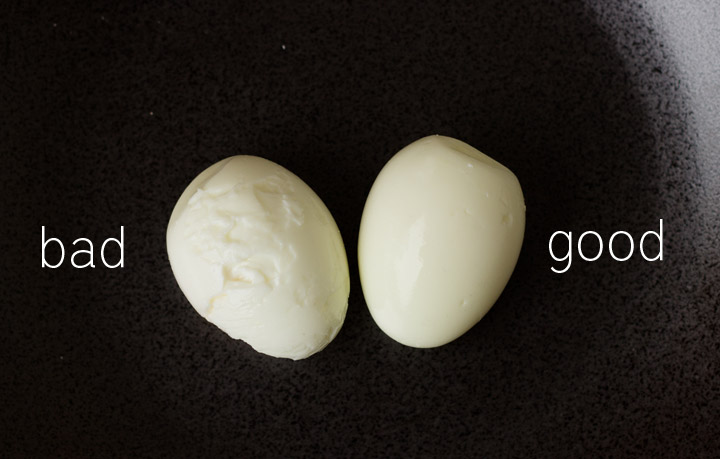 How to make hard cooked eggs easier to peel