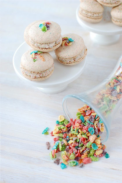 Fruity Pebble Macarons and 14 other creative uses for cereal