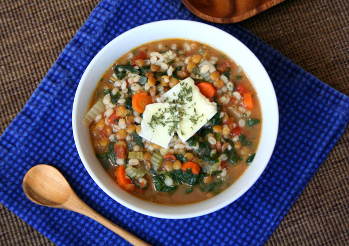 Cumin and Lentil Barley Stew and 12 other soups & stew with whole grains