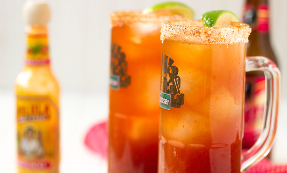 The Ojo Rojo (Red Eye) - a classic Mexican hangover cure that's like a beer bloody mary!