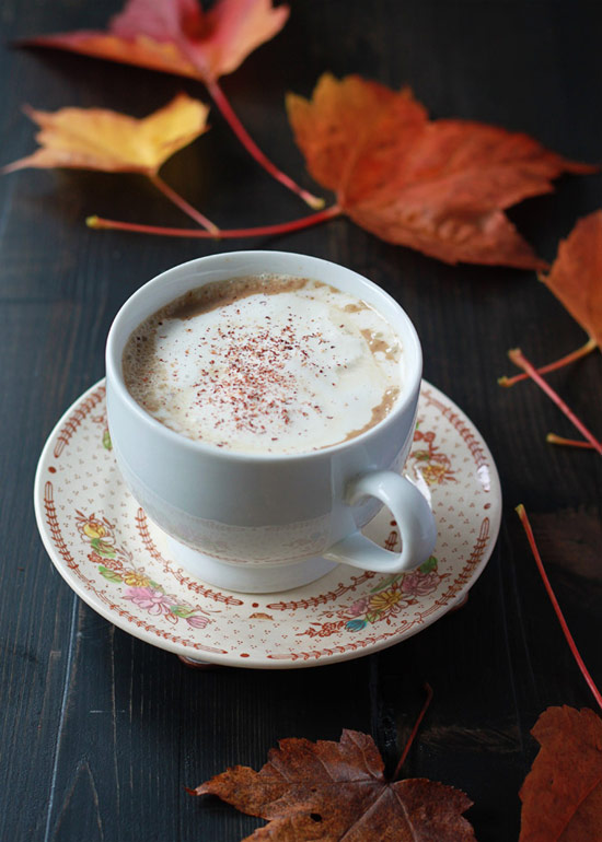 Gingerbread Pumpkin Lattes