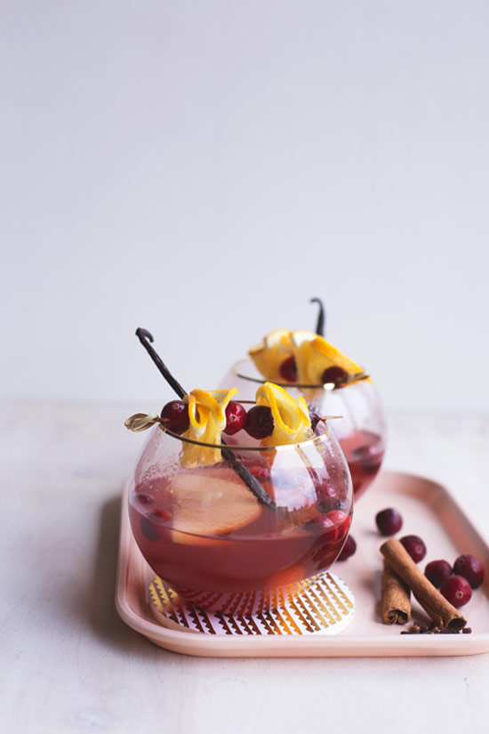Slow Cooker Winter Rose Sangria