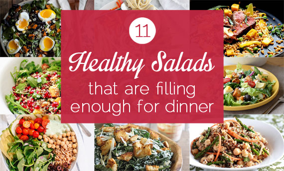 11 Healthy, Protein-Packed Salads That Are Filling Enough For Dinner