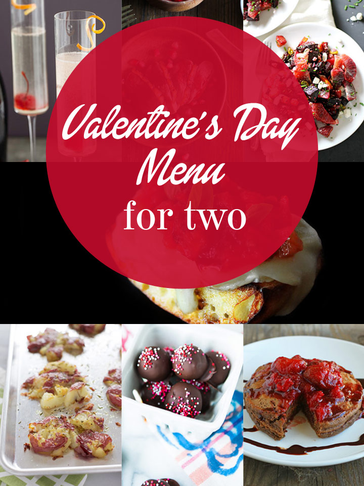 Seeing Red - A Complete Valentine's Day Menu for Two