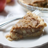 Brown Butter Apple Custard Pie
