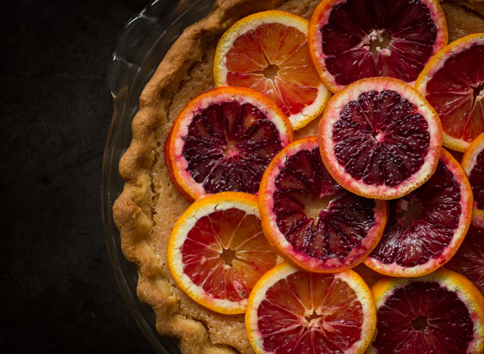 Whole Blood Orange Tart