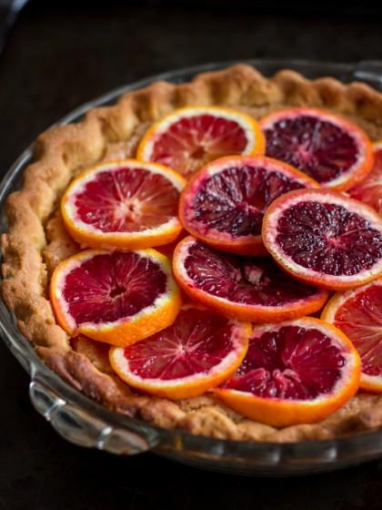 Whole Blood Orange Tart