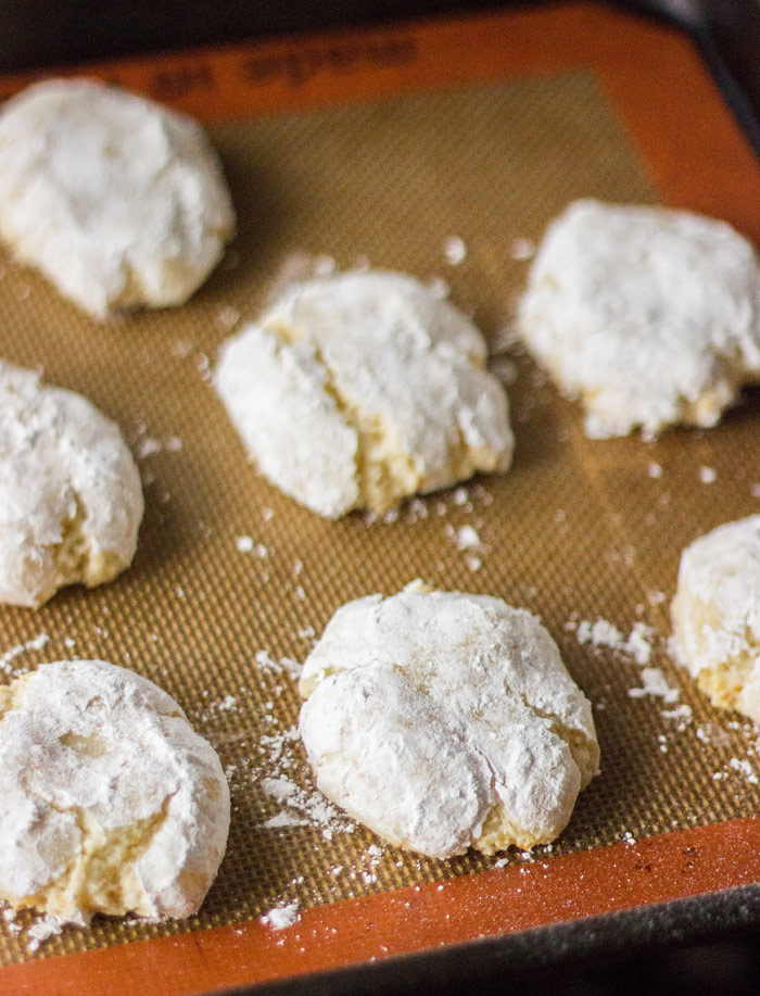 Ricciarelli - Easy Sienese Almond Cookies that are naturally gluten free!