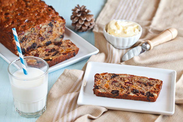 Fruchtebrot - German Christmas Fruitcake plus 25 other Christmas recipes
