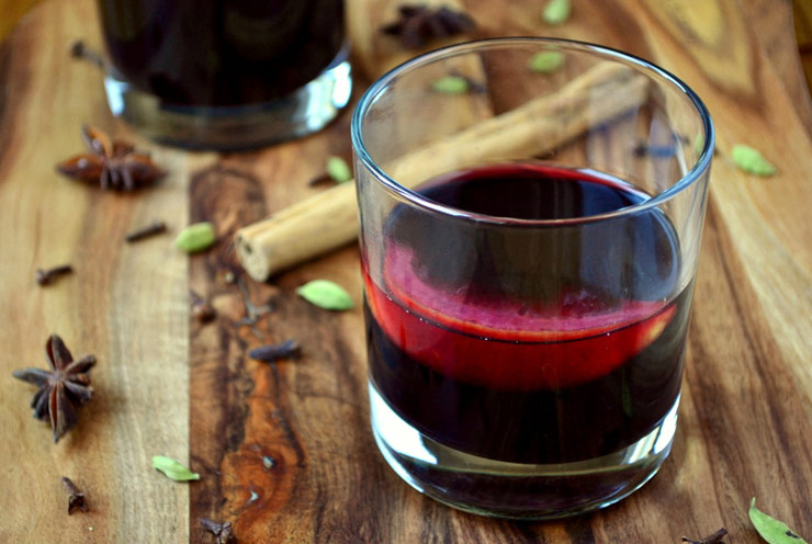 German Gluhwein plus 25 other Christmas recipes