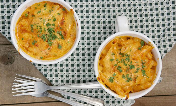 Pumpkin Cheddar Mac n' Cheese