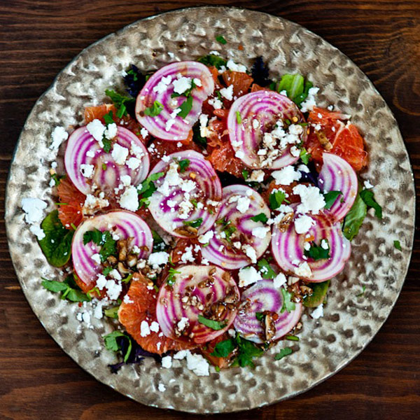 Orange and Beet Goat Cheese Salad Recipe