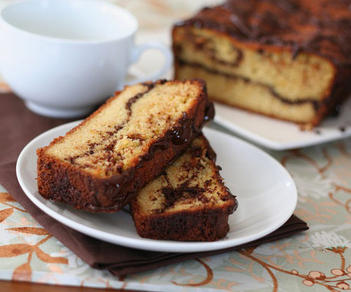 Orange Chocolate Swirl Bread (Low Carb and Gluten Free)