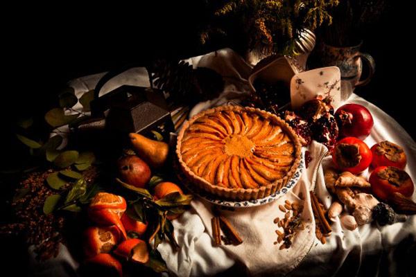 Frangipane Candied Pumpkin Pie