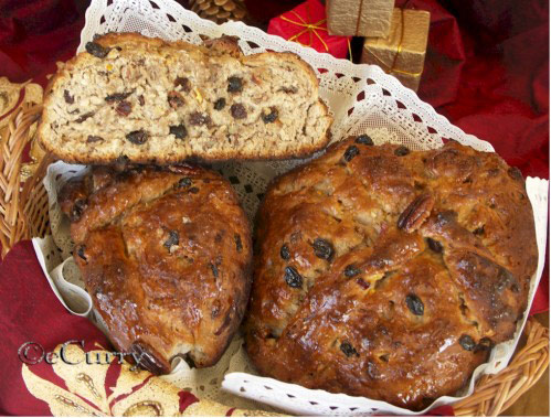 Christopsomo - Greek Christmas Bread plus 25 other Christmas recipes