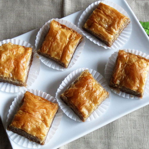 Baklava plus 25 other Christmas recipes