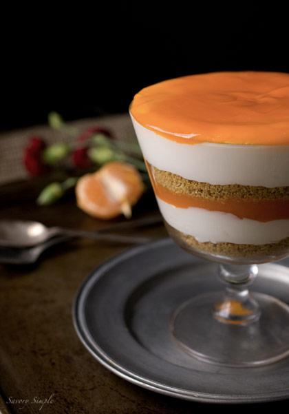 Clementine Curd Cheesecake Parfait