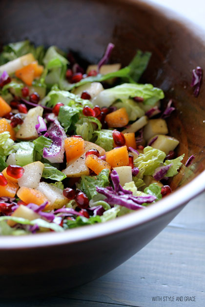 Winter Chopped Salad Recipe