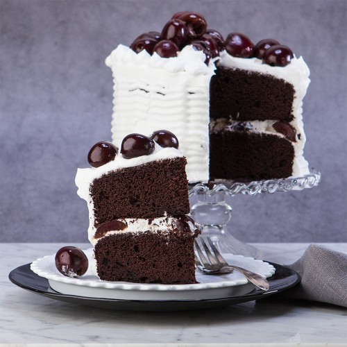 Gluten Free Black Forest Cherry Cake from Gluten Free Canteen