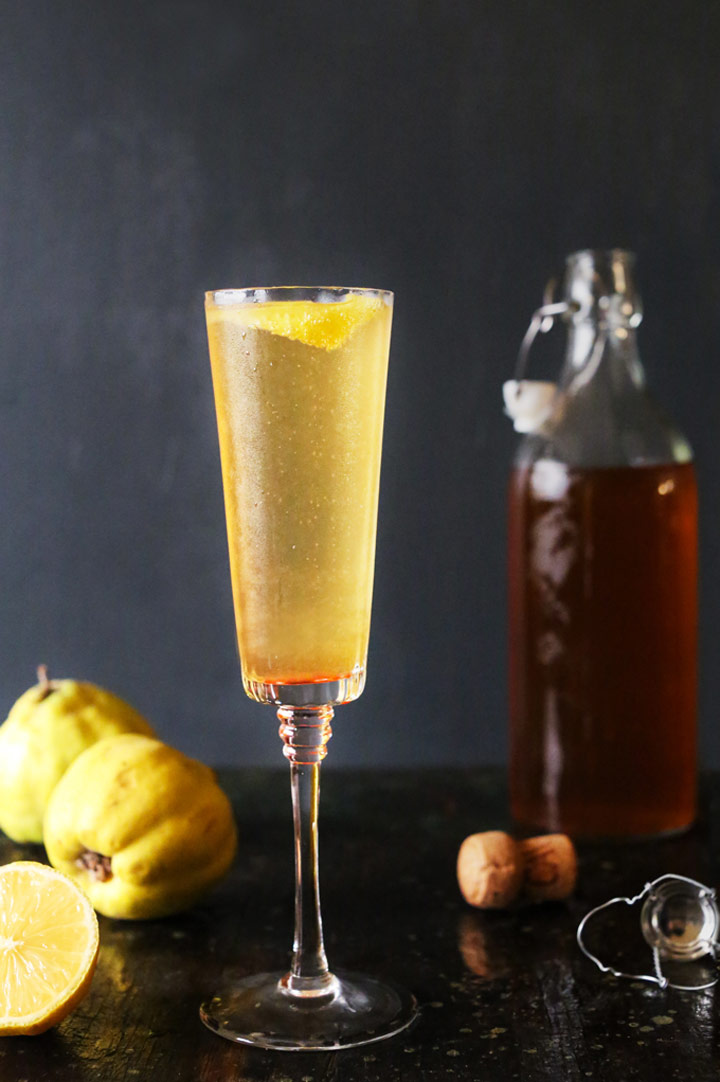 Apple and Quince Sparkler from Kitchen Konfidence