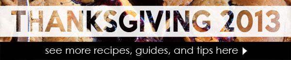 2013 NoshOn.It Guide to Thanksgiving