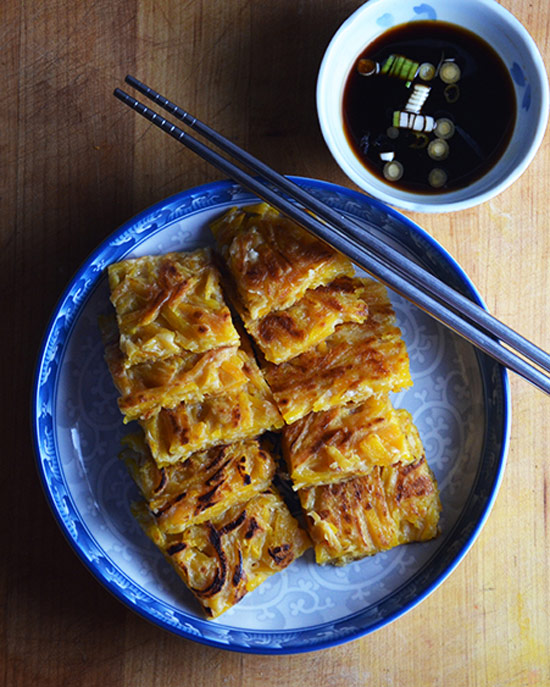 Korean Butternut Squash Pancakes