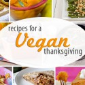 Vegan Thanksgiving Collage