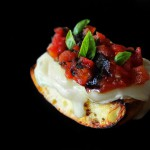 Camembert Bruschetta with Tomato Marmalade